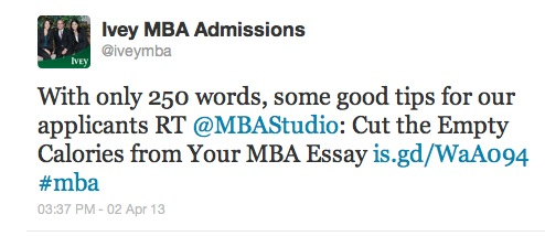 Mba admission essay services optional