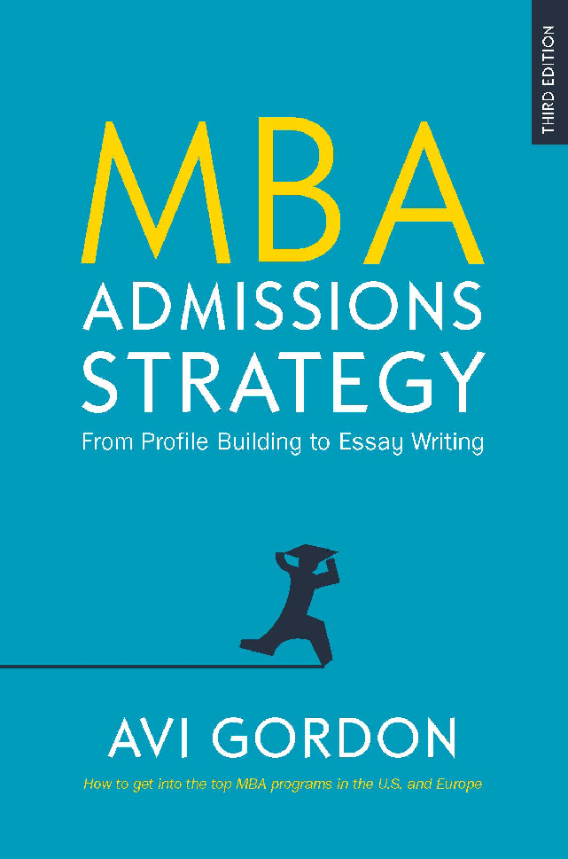 Mba personal essay thank you